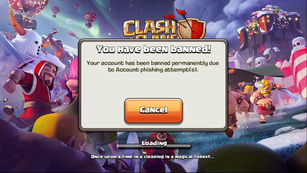 Supercell banned my Clash of Clans account permanently  How