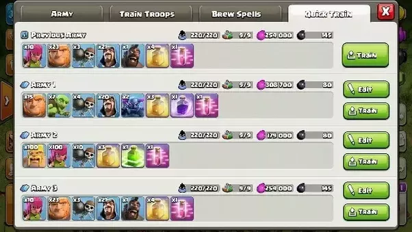 Clash Of Clans All Dark Elixir Troops