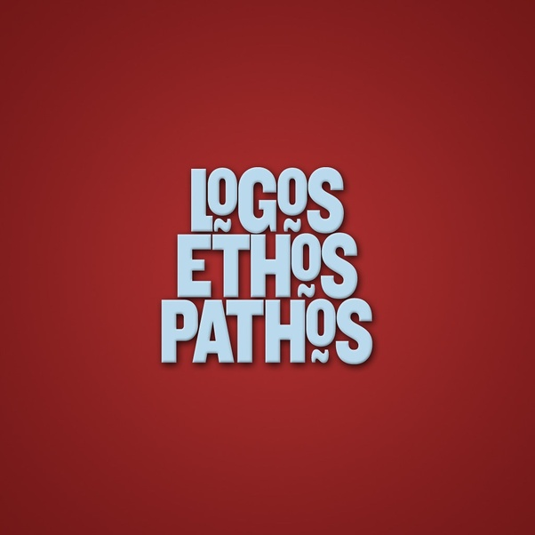 Do the three rhetorical appeals (ethos, pathos, and logos) have any