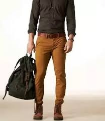what shirts go with brown pants