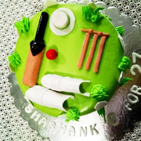 So My Dad Personally Is A Great Cricket Fan Especially Virat Kholi I Would Buy Him Cake Got The Picture