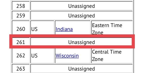 Where is area code 261? - Quora on time zone map by zip code, find zip code, 53189 zip code,