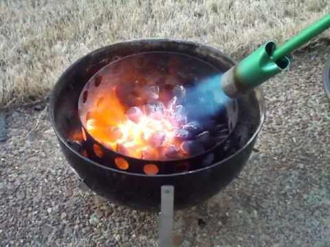 What Is The Best Way To Light Up Charcoal For Barbecue