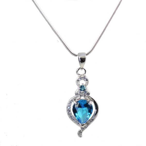 What is the difference between necklace and pendant quora this is a cz pendant which actually means to dangle down with a chain this is the basic difference between pendant and necklace aloadofball Images