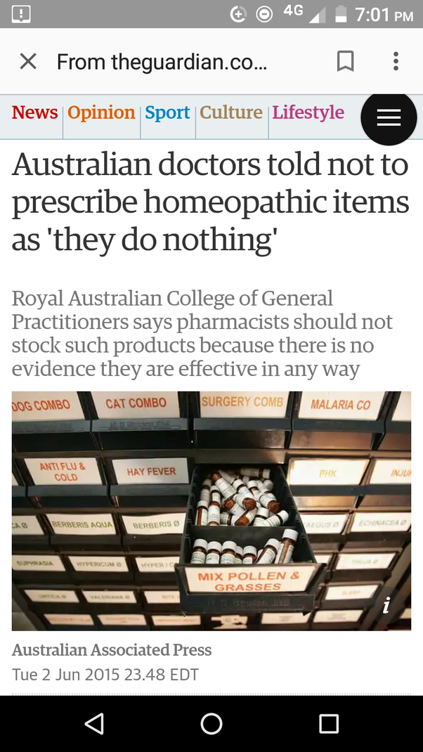 How Can We Shut Down Homeopathy Quora