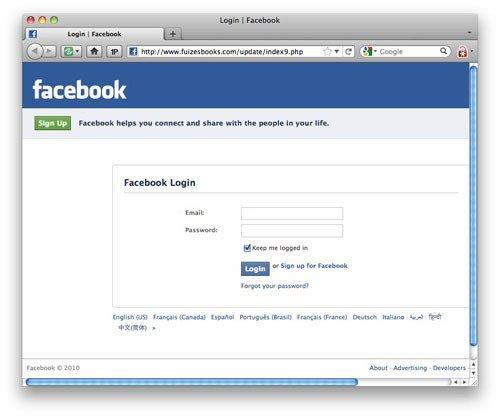 facebook deutschland login