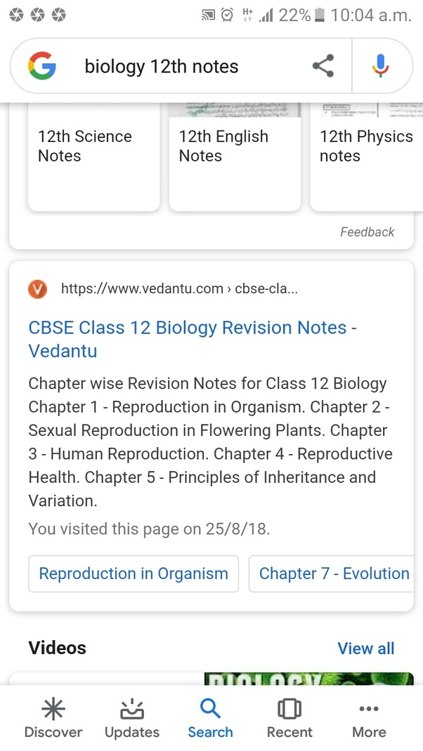 Which is the best reference for class 12th biology? - Quora