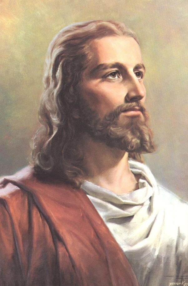 who is the person portrayed as jesus christ in statues and paintings