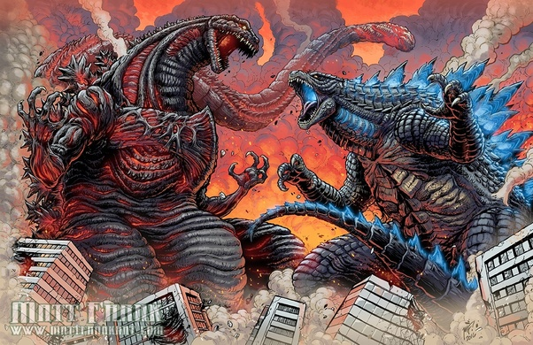 Who would win: Shin Godzilla or 2014 Godzilla? - Quora