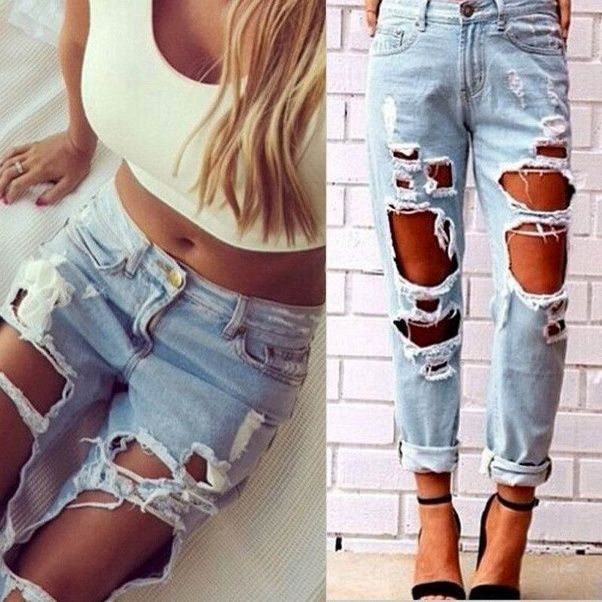 What is your opinion about ripped jeans quora in spite of the fact that ripped jeans have been a fashion trend for some time already personally i dont care for them myself solutioingenieria Gallery