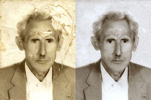 Old Photo Restoration Photoshop Tutorial (8 Process Steps) Old photo restoration tutorials