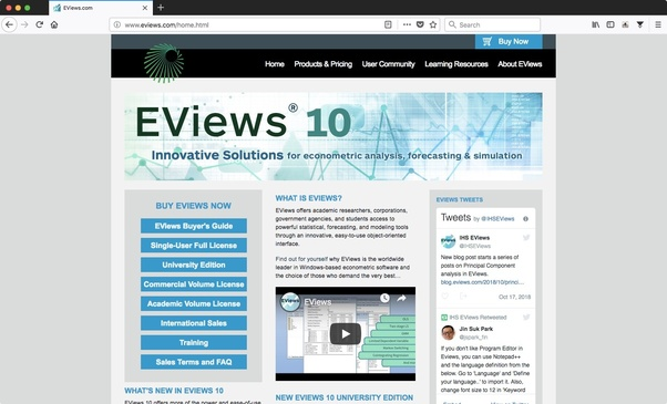 eviews free download for windows 10