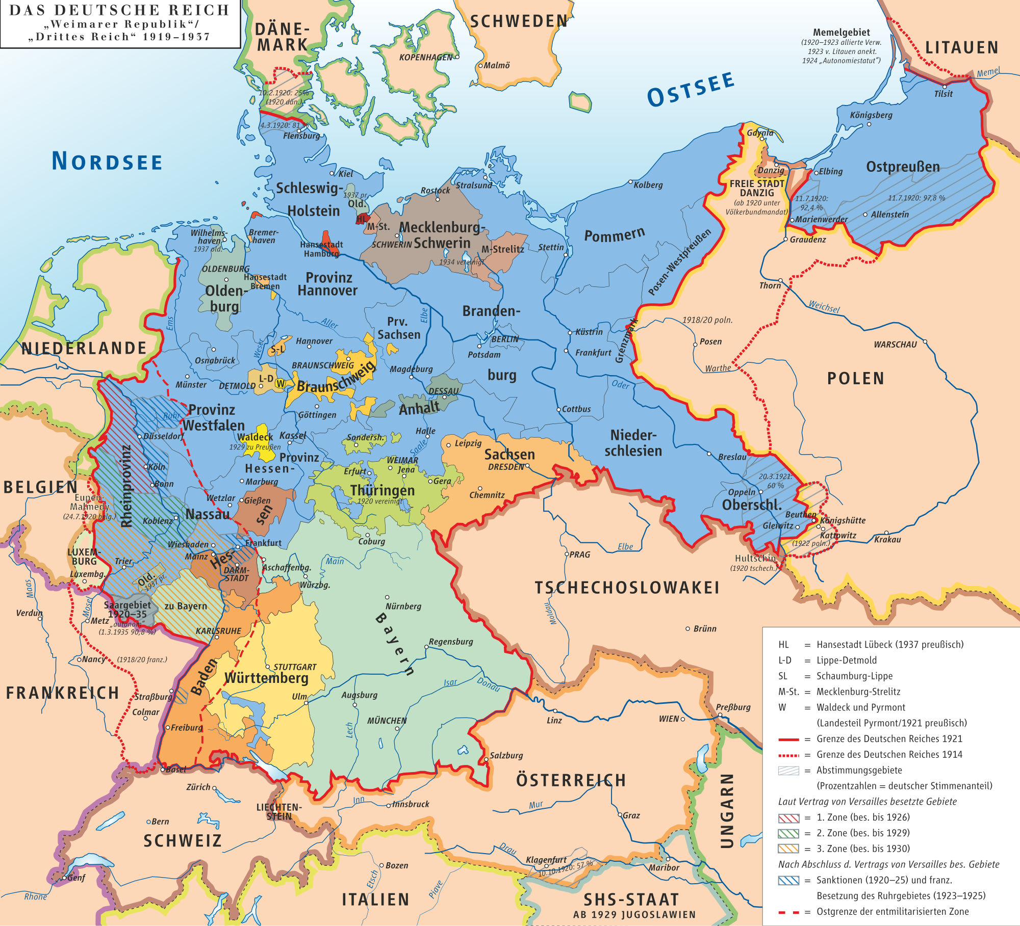 Map Of Germany Before Ww1.1945 Germany Map