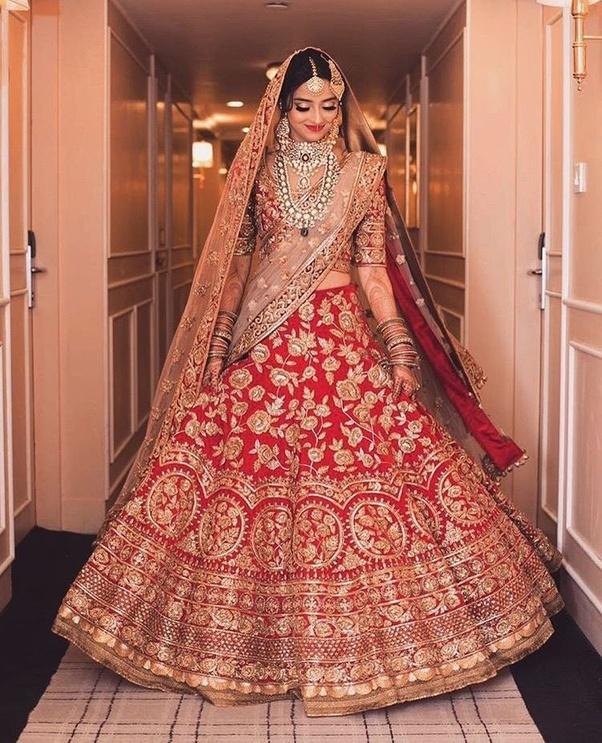 d323fda75b What are the trending bridal lehenga designs in 2018? - Quora