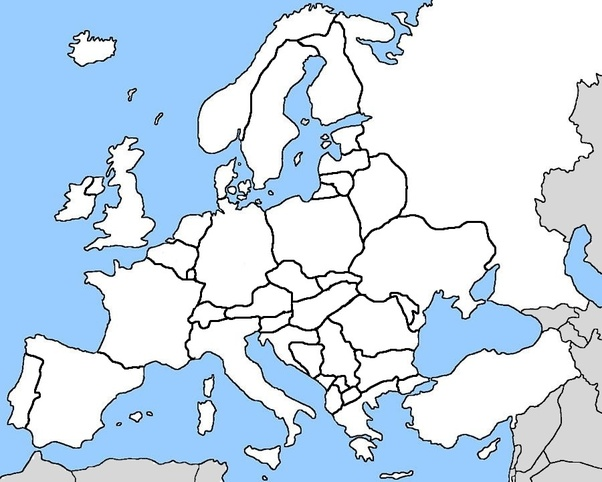 How well can you draw European political borders onto a ...