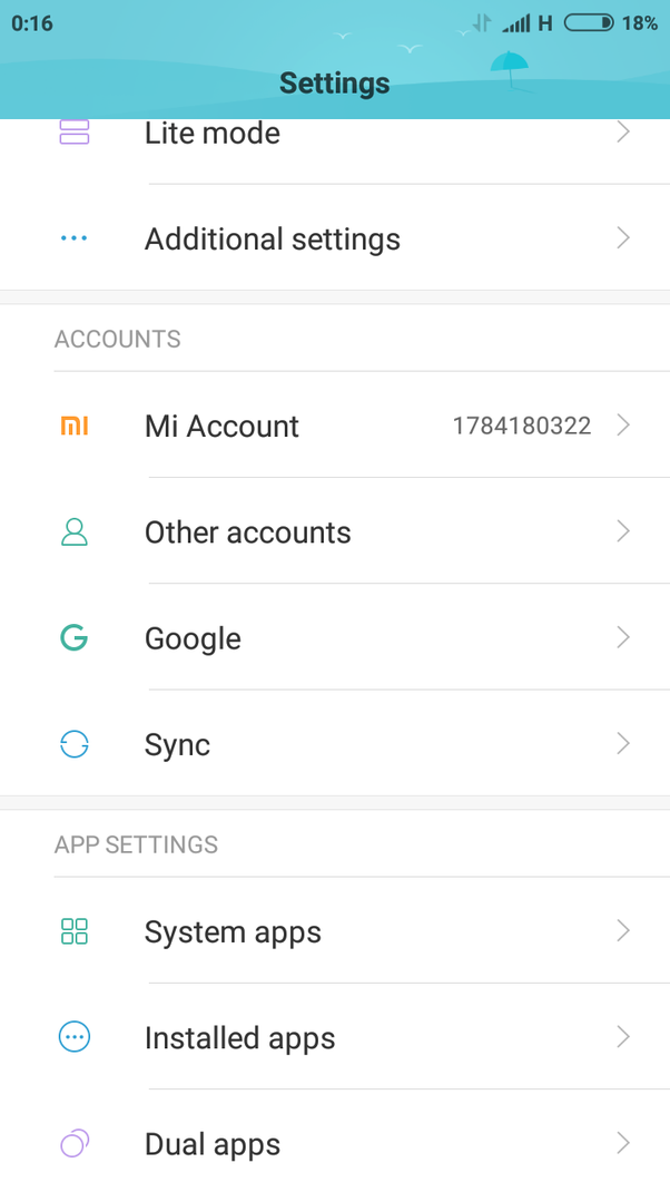 How to remove a Gmail account from 'Redmi Note 4' - Quora