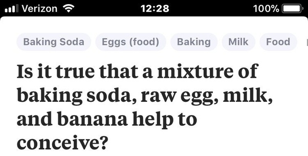 Is it true that a mixture of baking soda, raw egg, milk, and banana