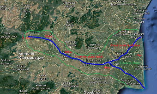 Why can't Tamil Nadu build a dam across Kaveri river so that its