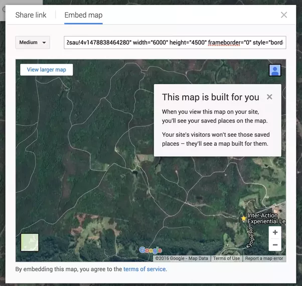 How to copy and print large high resolution maps using google earth 3 copy that code into the body of new html file freerunsca Choice Image