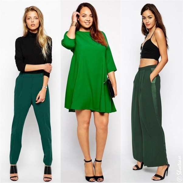 Which Colors Of A Dress Should L Wear With Olive Green