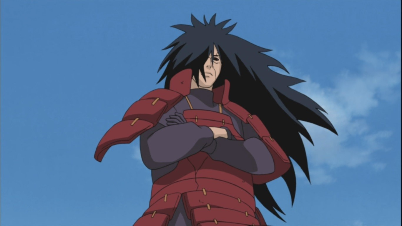 Madara uchiha is a masterclass on making an op villain seem real by which i mean making sure to utilize the narrative points an op villain can get when