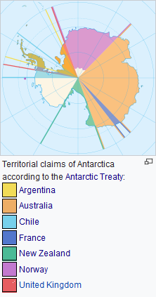 What countries or continents border the Antarctic Circle or South ...