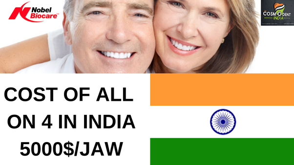 How to cost a full-mouth dental implant in India - Quora