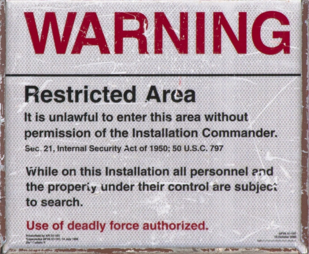 When is it okay to shoot someone trespassing your property