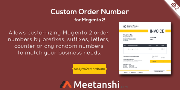 What is the best Magento 2 extension to get an order number and invoice number customization?