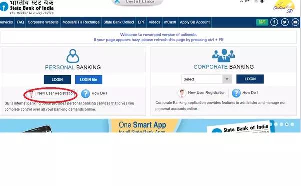 How To Activate Net Banking In Sbi Quora