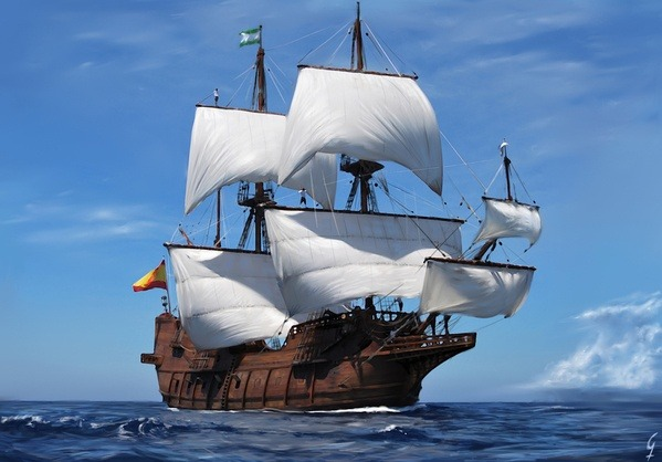 Maritime piracy how much would it cost to build a full size pirate this is galen andaluca a replica of a spanish galleon but thats the kind of ship the pirates used to prey on they used smaller and more manoeuvrable publicscrutiny Choice Image