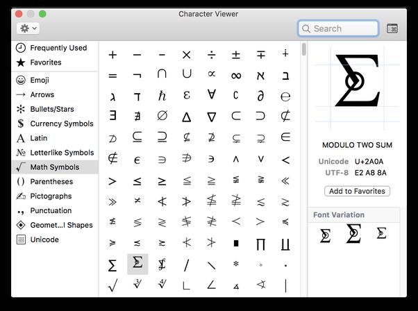 How To Make Symbols On A Mac Quora