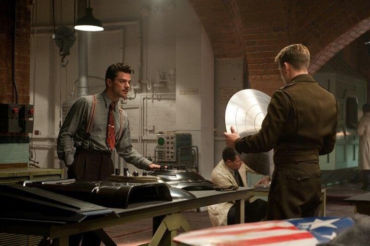 Did Iron Man's father build Captain America's shield? - Quora