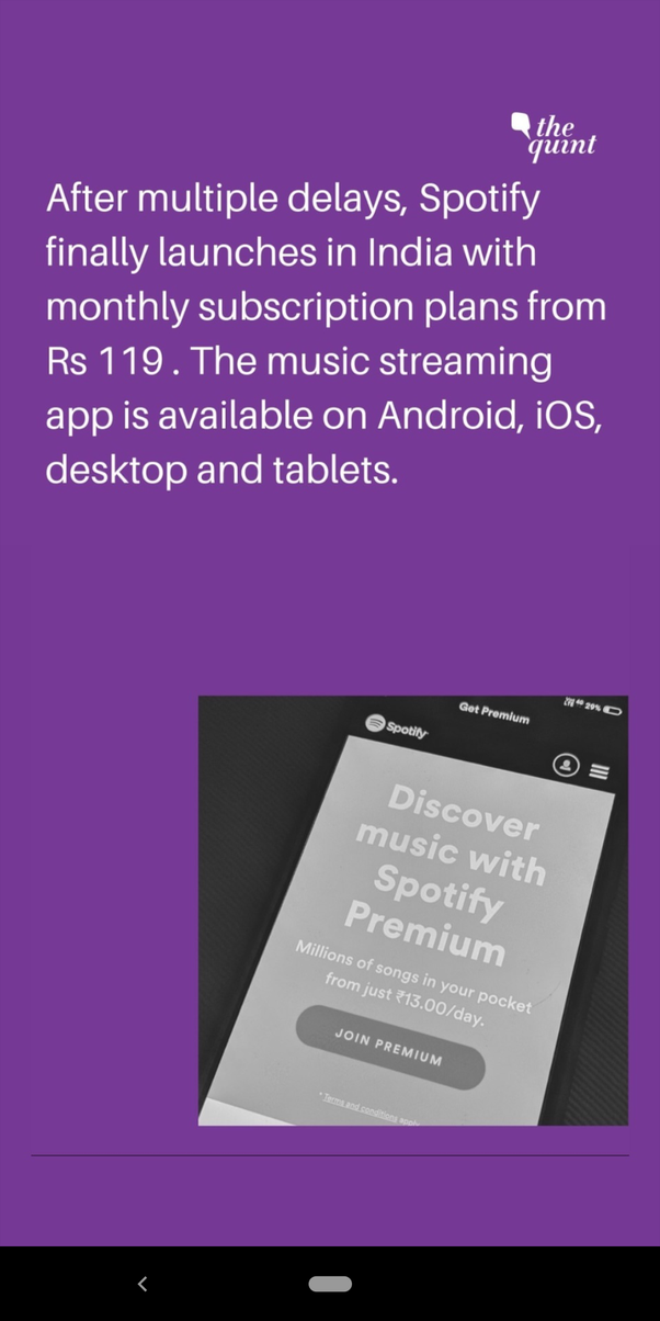 Can we use Spotify in India? - Quora