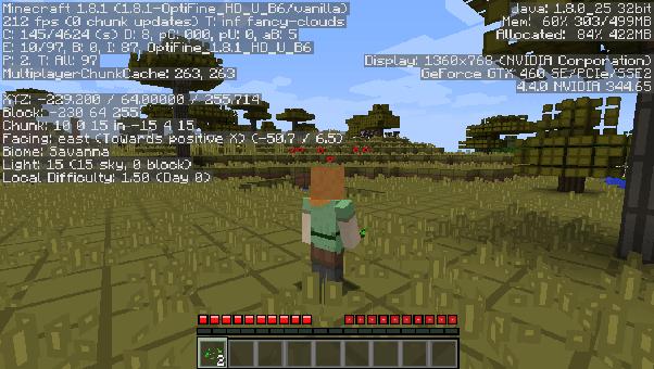 Optifine forge | minecraft 1. 12. 2/1. 11. 2/1. 10. 2.