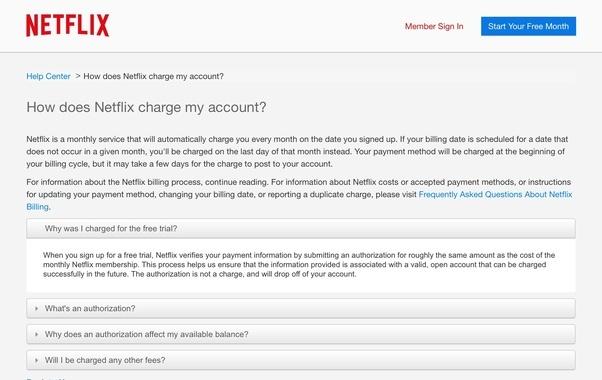 Charged Netflix