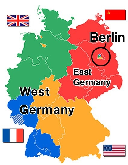 Map Of East West Germany.If East Germany And West Germany Can Unite After Three Decades Then