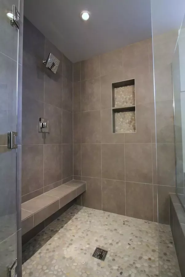 This One Is Similar To A Porcelain Tile Shower I Helped My Father Install Some Months Ago Was Going Include Photo Of It But Contains