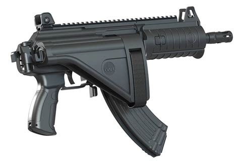 Why were over/under-folding gun stocks produced when they