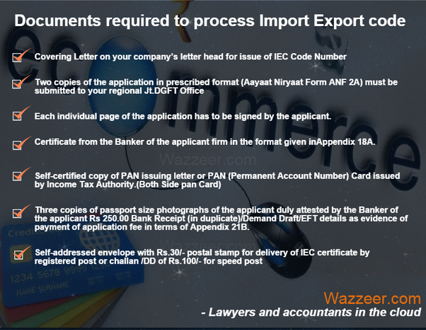 What is import export documentation quora importer exporter code number shall be necessary only when the service or technology provider is taking benefit under the foreign trade policy or is dealing publicscrutiny Choice Image