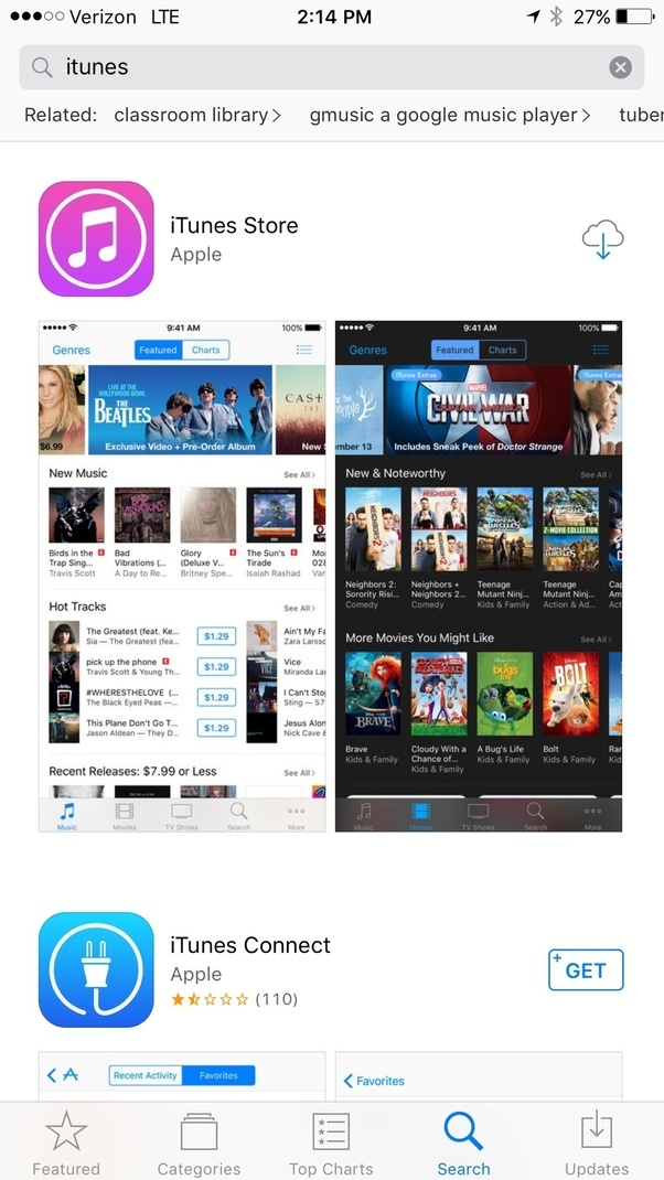 how to download apps from itunes store on my iphone