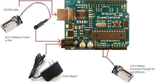 Can we use arduino without a usb connection to computer