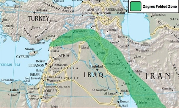 What are the mountain ranges of iraq quora technically part of the zagros mountains they are considered their own sub range the terrain is very rugged and difficult to access the highest elevation publicscrutiny Image collections