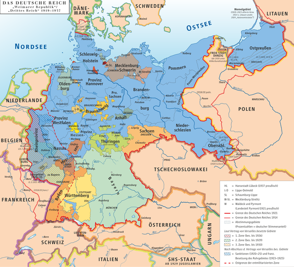 What was the territory of germany before and after world war ii quora most of these areas got into possession of poland after ww2 gumiabroncs Choice Image