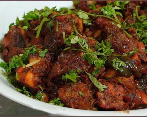 Andhra Chilli chicken, spiciest food