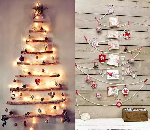 give a unique touch to your walls in these holidays by using these awesome christmas wall decoration ideas you will discover plenty of ideas for creating - Christmas Wall Decoration Ideas