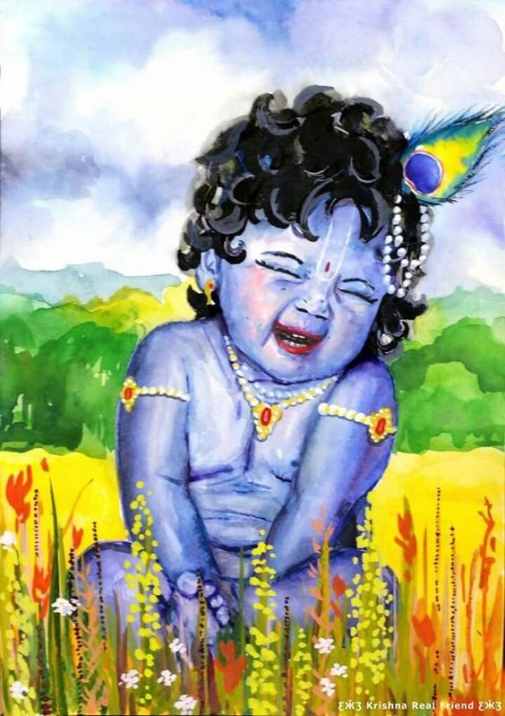 What are the some best pictures of Shri Krishna you have ...