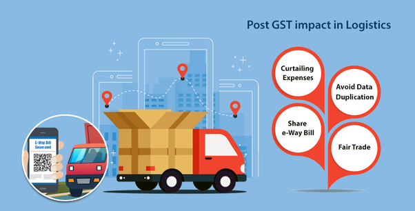 What is the impact of GST on the Logistics and
