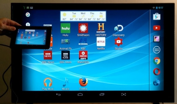 How to mirror an iPhone to a Samsung Smart TV with an app