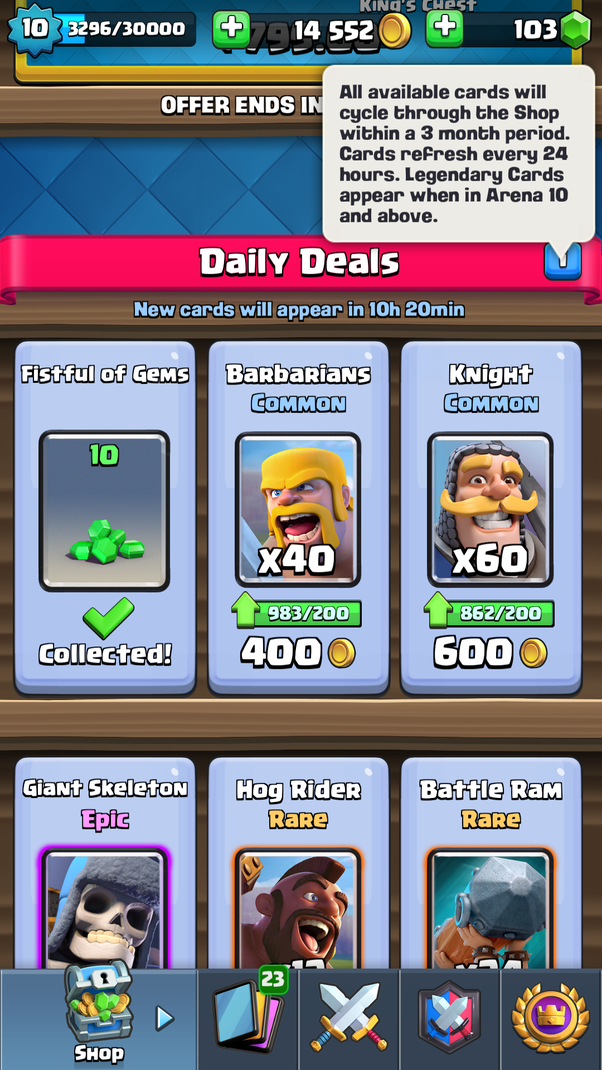 how to use legendary trade token
